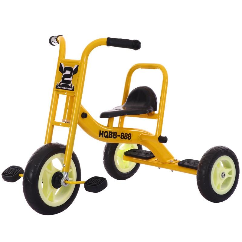 Многофункциональный трехколесный велосипед, детская тележка с нажимом, детские велосипеды, детский скутер, балансировочный велосипед, пое...