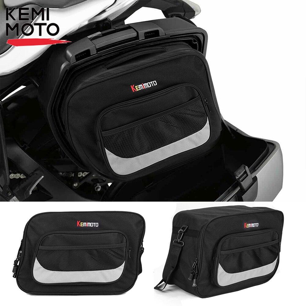 حقيبة أمتعة سوداء قابلة للتوسيع للدراجات النارية ، من أجل Pannier Liner BMW R1200RT R850R R850RT R1100 R RS RT S R1100GS R1150RS