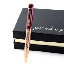 Bolígrafos con bola de cristal de lujo Bolígrafo De metal 12 colores bolígrafo de diamante bolígrafos para la escuela papelería suministros de oficina