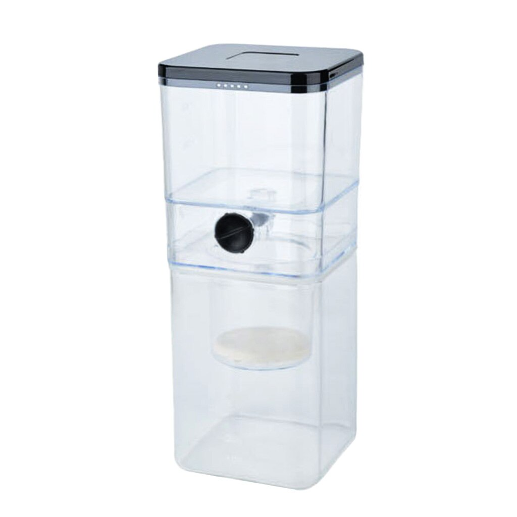 صانع القهوة الباردة بالتنقيط الجليد أقداح قهوة زجاجية Carafe المنقط وعاء 500 مللي لمدة 3 أشخاص