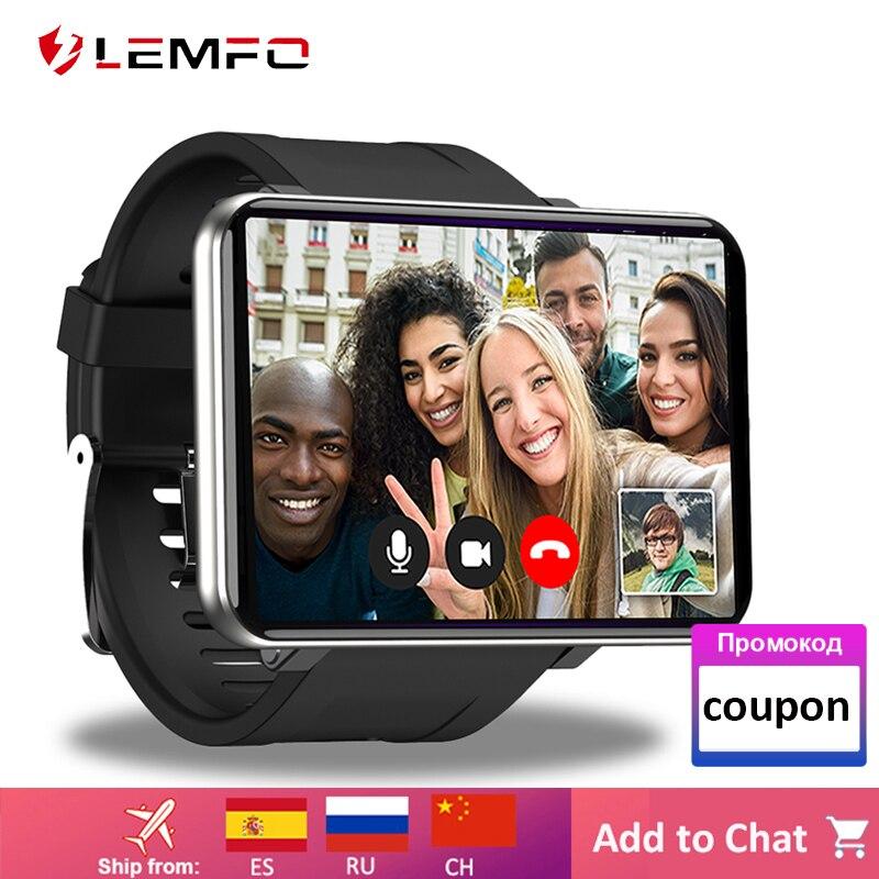 LEMFO LEMT 2.86 بوصة 4G الذكية ووتش الروبوت 7.1 3GB 32GB Bluebooth Smartwatch 5MP كاميرا 2700mAh 480*640 قرار GPS WiFi
