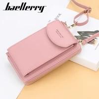 baellerry women wallet brand cell phone wallet big card holders wallet handbag purse clutch messenger shoulder straps bag