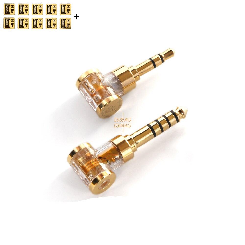 Adaptador de conector de auriculares para auriculares, convertidor de Audio DD ddHiFi...
