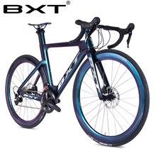 Carbon Bike Racing kompletna droga rowerowa 11 prędkości City rowerowy hamulec tarczowy rower szosowy