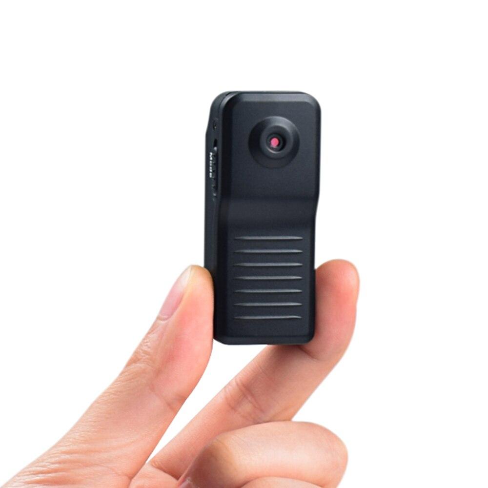 Md11 miniatura câmera hd 720p gravador de vídeo voz max suporte 32g baixo ganho de luz operação digital pc simples câmera sem fio