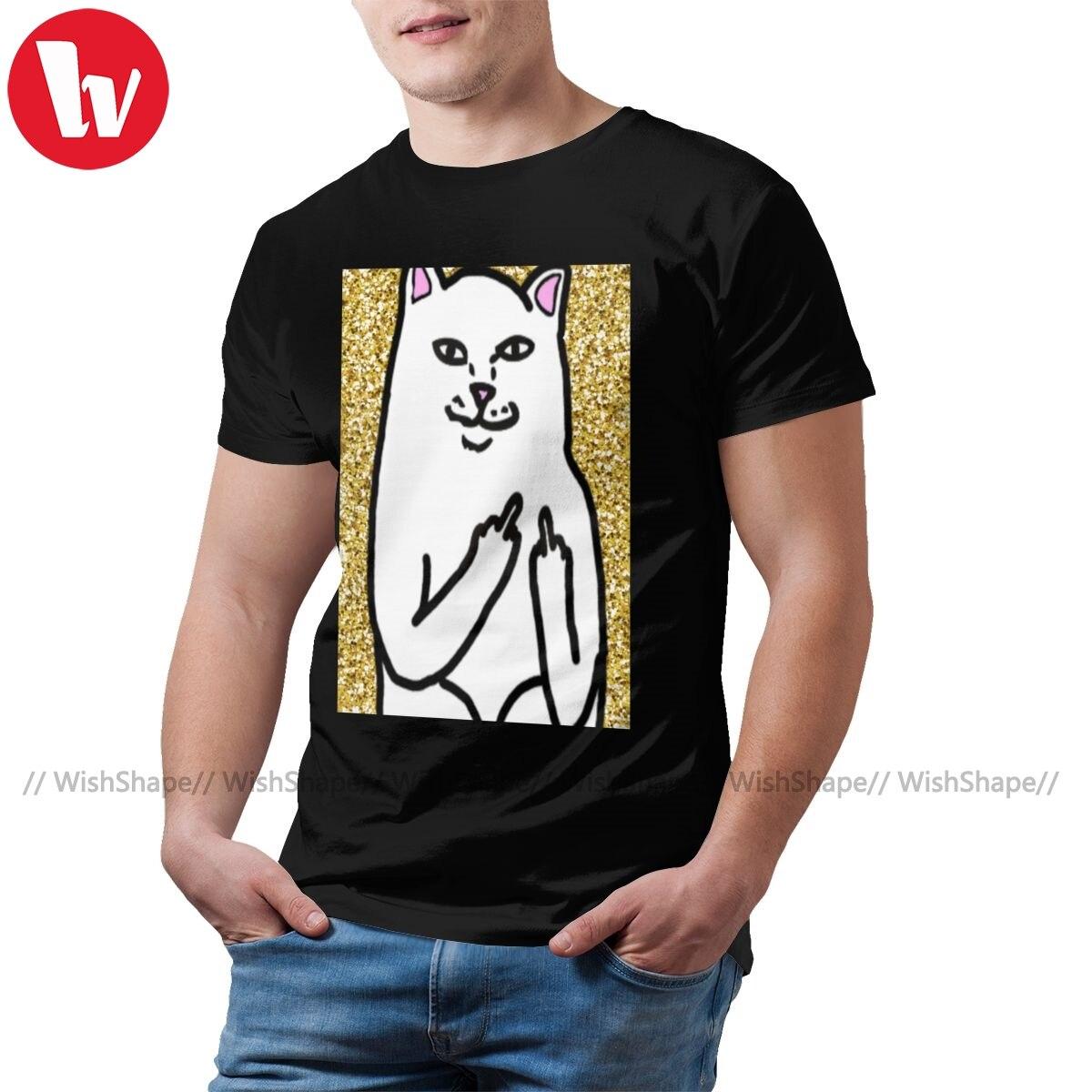 Herr Nermal T Hemd NERMAL Lange T-Shirt 4xl Kurzen Ärmeln T Hemd Baumwolle Grafik Herren Sommer Genial T-shirt