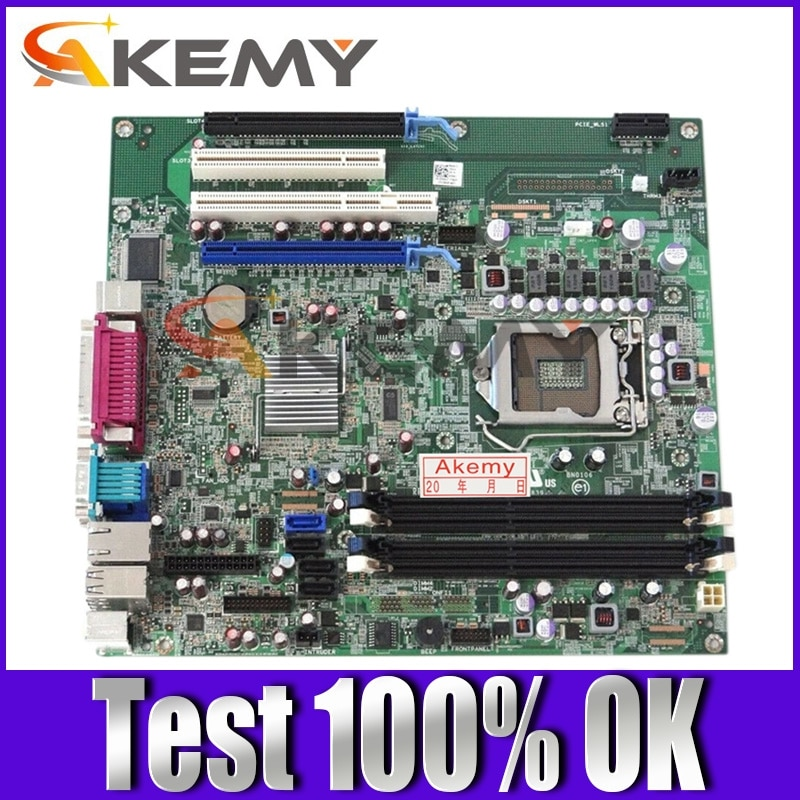 High quality Desktop Motherboard FOR DELL OPX 980 MT LGA1156 CN-0D441T 0D441T D441T DDR3 Q57 100% Tested Fast Ship