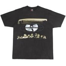 Wu-Tang T-shirt Men Sport Casual Streetwear High Quality Cotton Hip Hop Short Sleeve T shirts Fashi