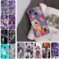 danganronpa v3 phone case for redmi note 8pro 8t 9 redmi note 6pro 7 7a 6 6a 8 5plus note 9 pro case