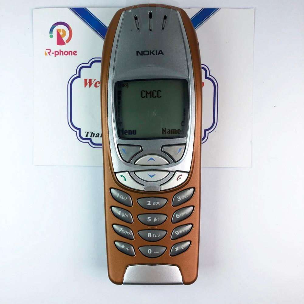 Refurbished clásico Original Nokia 6310i teléfono móvil 2G GSM desbloqueado rojo y un año de garantía