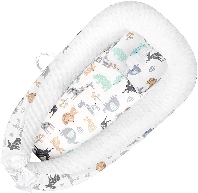 Детские коляски fexmricher thysa, детские Шезлонги для сна, портативная Очаровательная детская люлька для кровати, дышащий шезлонг для новорожденн...