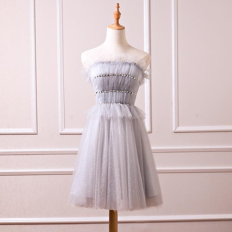 2020 Vestidos Para Bautizo comunión la nueva princesa Han edición Otoño Socialite fiesta cumpleaños Base pecho vestido pequeño Vestidos