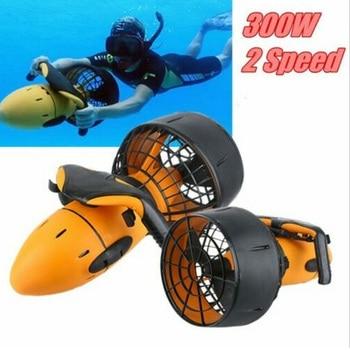 Underwater Scooter 300W Dual Speed Water Propeller Water Pool Electric Suitable For Ocean And Pool Waterproof Sports Equipment