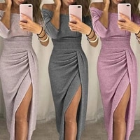 2020 hot sale new design styele casual clothing sweatwear sweet sexy fashion soft good fabric women dresses