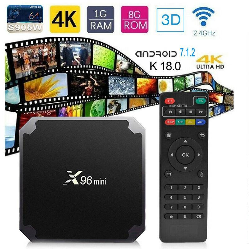 X96MINI Android tv box set-top box Android tv box S905W 16g x96 1080P HD 4K Media Player Youtube Google