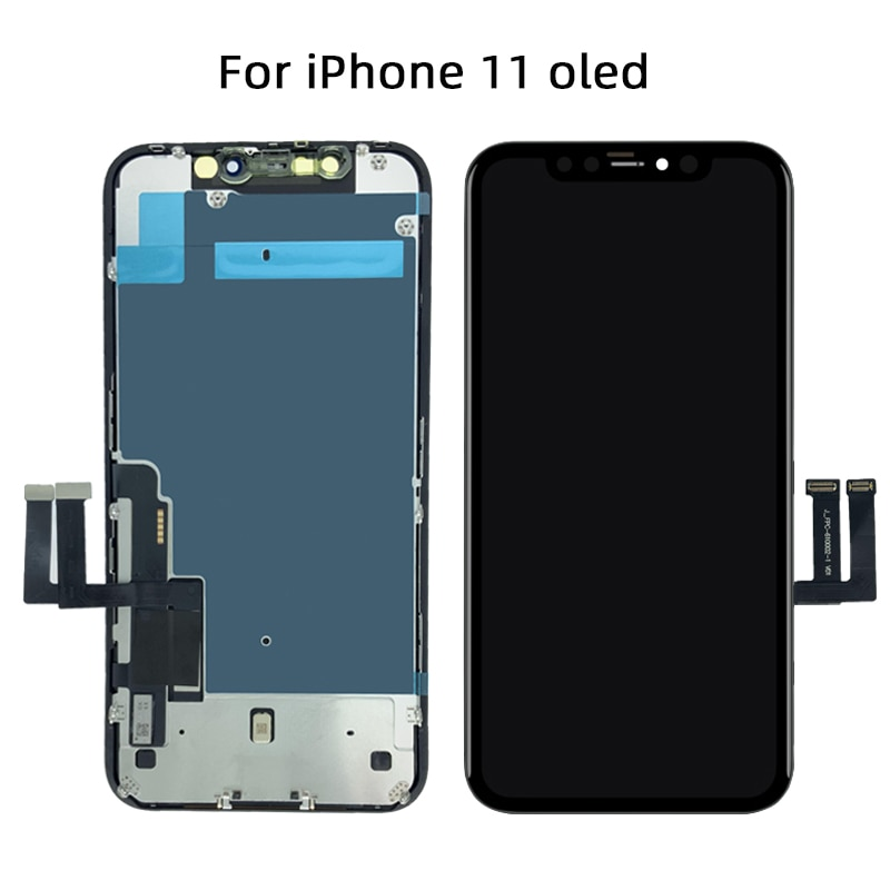 AAA+++ OLED For iPhone X XR XS Max LCD Display Screen Replacement For iPhone 11 Pro Max With 3D Touch Assembly True Tone enlarge