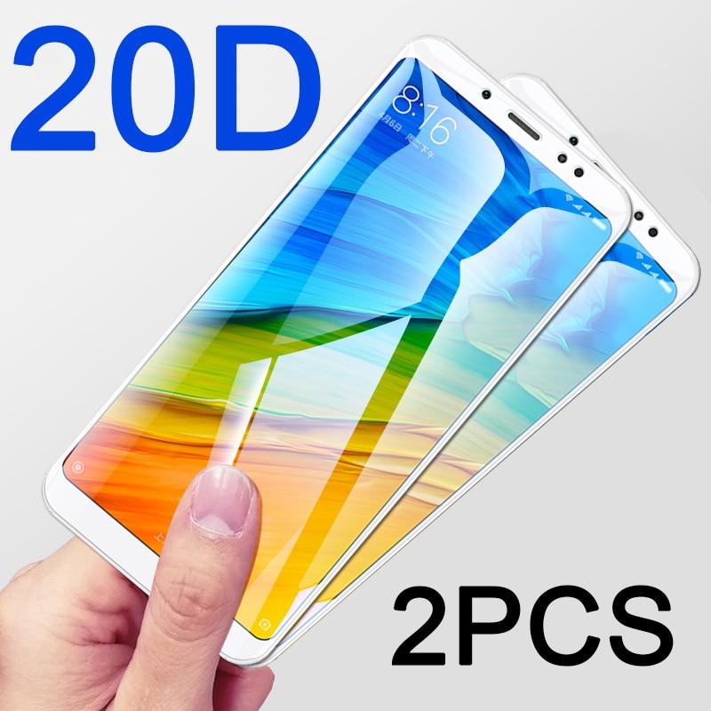 Закаленное стекло 20D для Xiaomi Redmi Note 5 Pro, 2 шт., Защитное стекло для Xiomi Redmi 5A redmi5 Plus Note 5A Prime, защита экрана