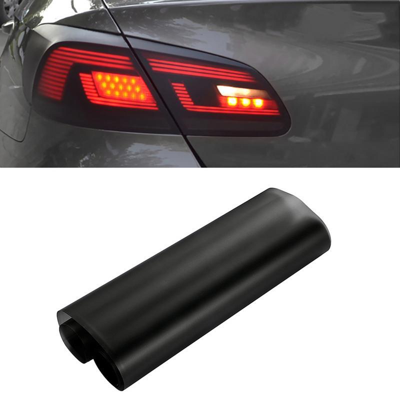 Автомобильный Стайлинг 30*150 см матовая дымосветильник пленка автомобильная матовая черная тонировка передняя фара освещение для головного...