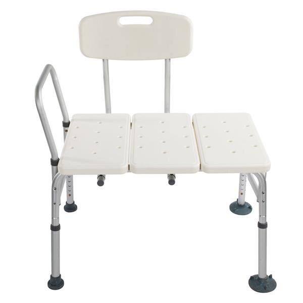 Silla deslizante para baño de ancianos, silla deslizante de 3 capas de aleación de aluminio, silla de baño práctica para mujeres embarazadas, taburete de ducha, silla segura