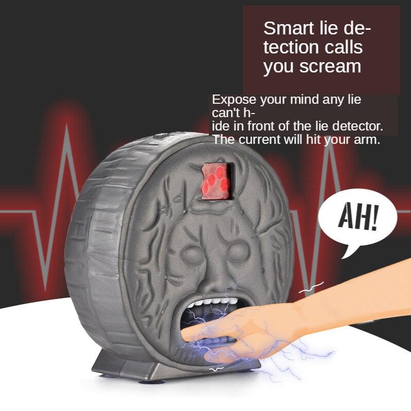 2020's lie detector fourth generation Party Whole Person electric shock bite finger light music Ancient Roman lie detector