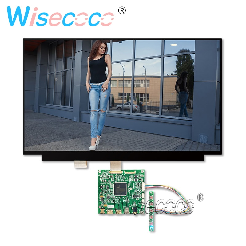"15.6"" 4K UHD LCD Panel 3840 * 2160 NV156QUM-N32 with 2HDMI DP Control Driver Board Tablet Laptop DIY Windows"