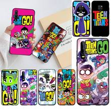 PENGHUWAN Teen Titans Go Phone Case for Huawei P40 P30 P20 lite Pro Mate 20 Pro P Smart 2019 prime