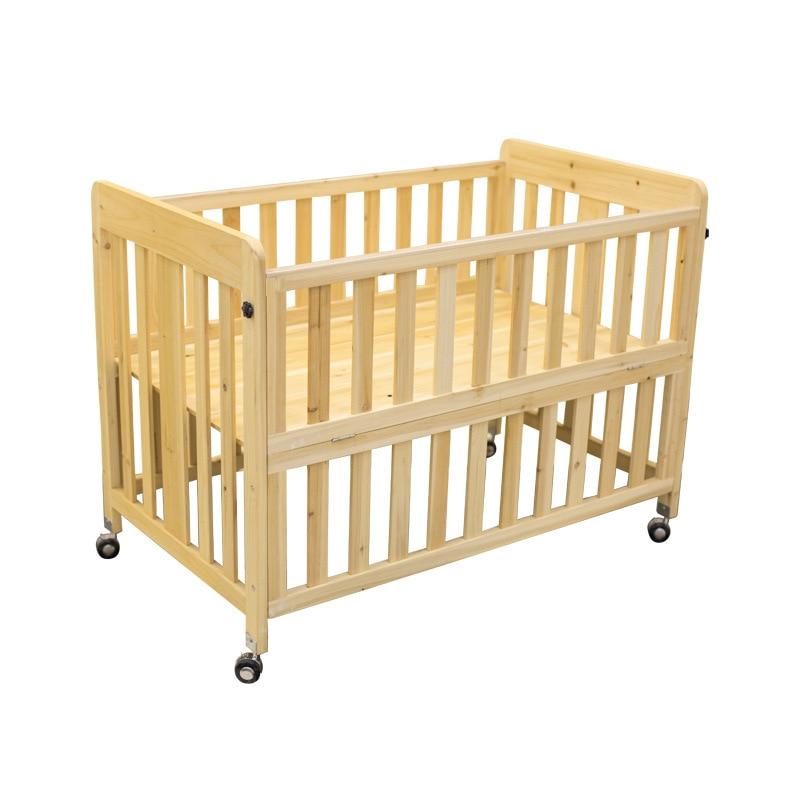 119*70 سنتيمتر غرفة نوم الأثاث شول رياض الأطفال سرير خشب متين سرير أطفال سرير