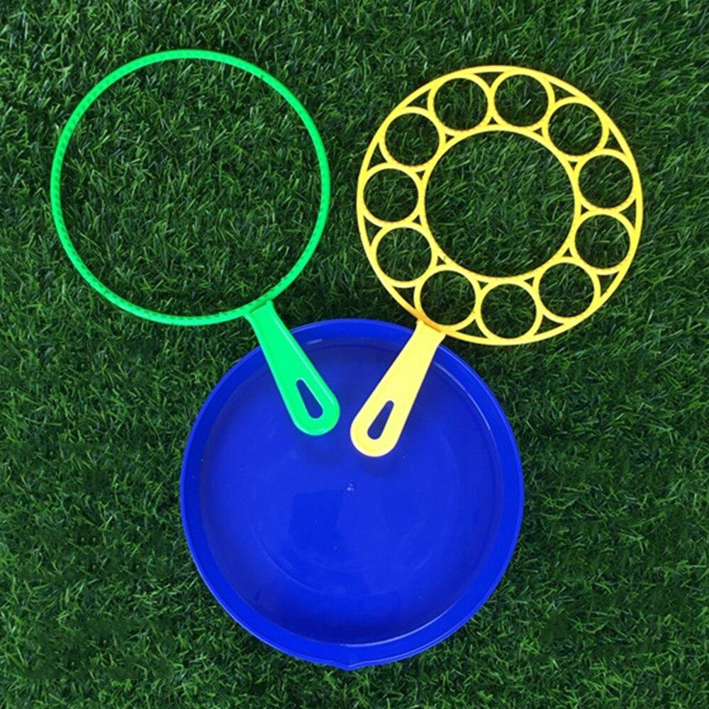 3 pçs/set magia grande bolha blower bolha varinha ferramenta brinquedo conjunto para crianças verão ao ar livre diversão família jogos bolha soprador