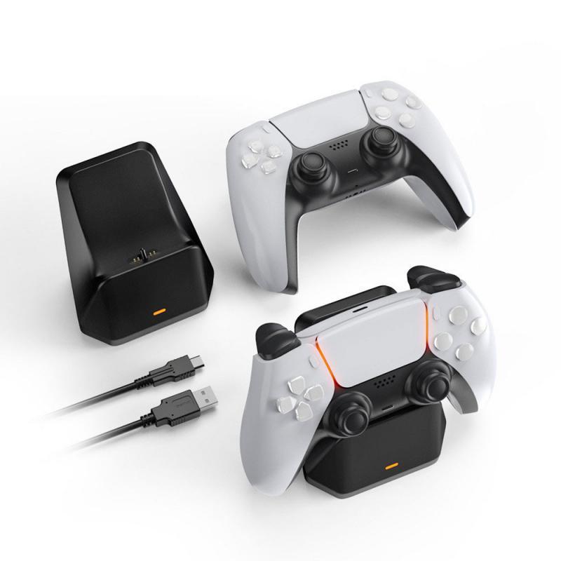 Быстрое зарядное устройство для PS5, беспроводной контроллер USB 3,0, зарядная док-станция для Sony PlayStation5, джойстик, геймпад