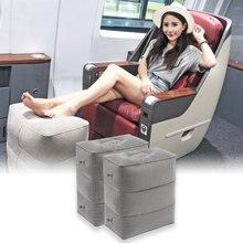 Coussin gonflable pliable pour repose-pied   pouf de vol, Portable, Train, lit denfants, repose-pieds, pouf chambre