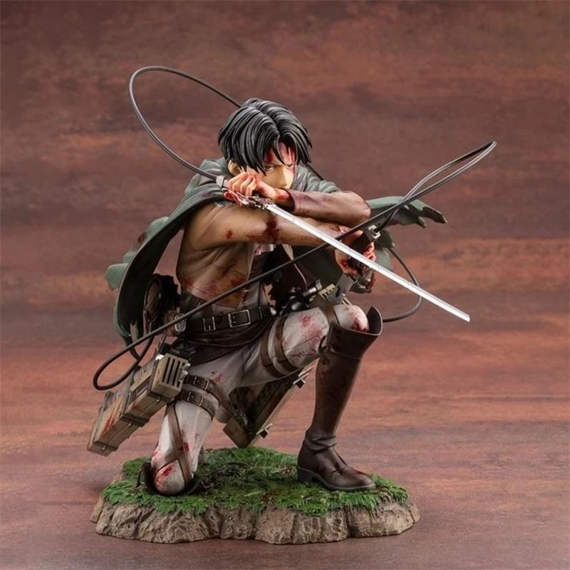 Figures Anime Attack on Titan Figure Model Toys Rival Ackerman Action Figure Package PVC Collection Toy Doll Christmas Gift angel beats figures tachibana kanade school uniform figure 20cm pvc scale figure anime toy manga doll