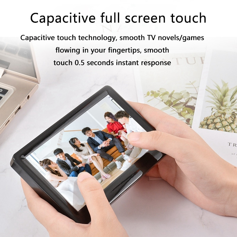 5-Inch HD Capacitive Contact Screen MP5 Video Player with External Lossless Sound Quality Music Mp4 with E-Book Games enlarge