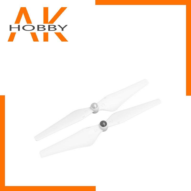 2 pares de hélices de ajuste DJI de plástico genuino 9450 para drones serie Phantom 3