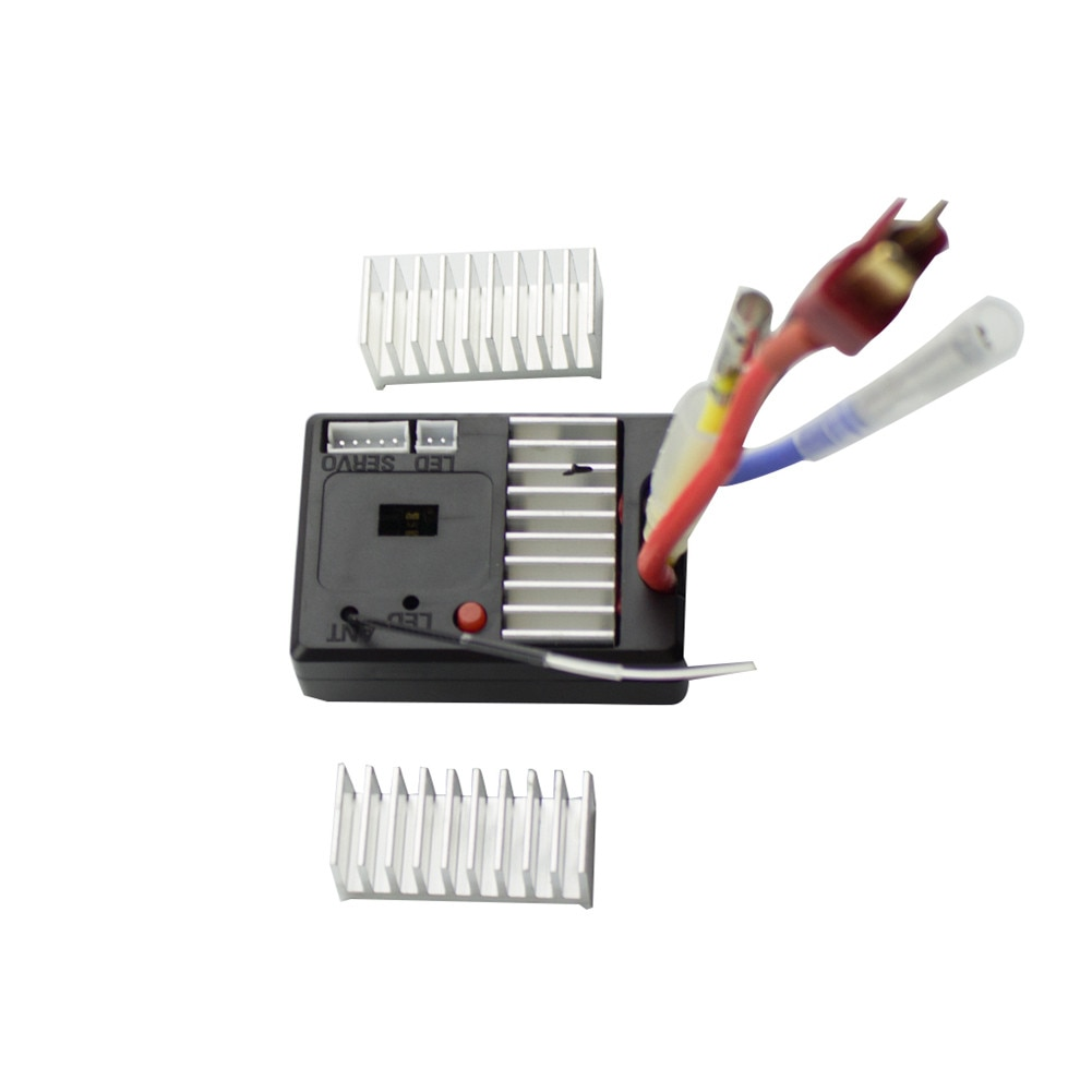 RC Car Receiving Board Receiver Circuit Board With Heat Sink Spare Accessories For WLtoys 1/14 144001 Vehicles High Quality enlarge