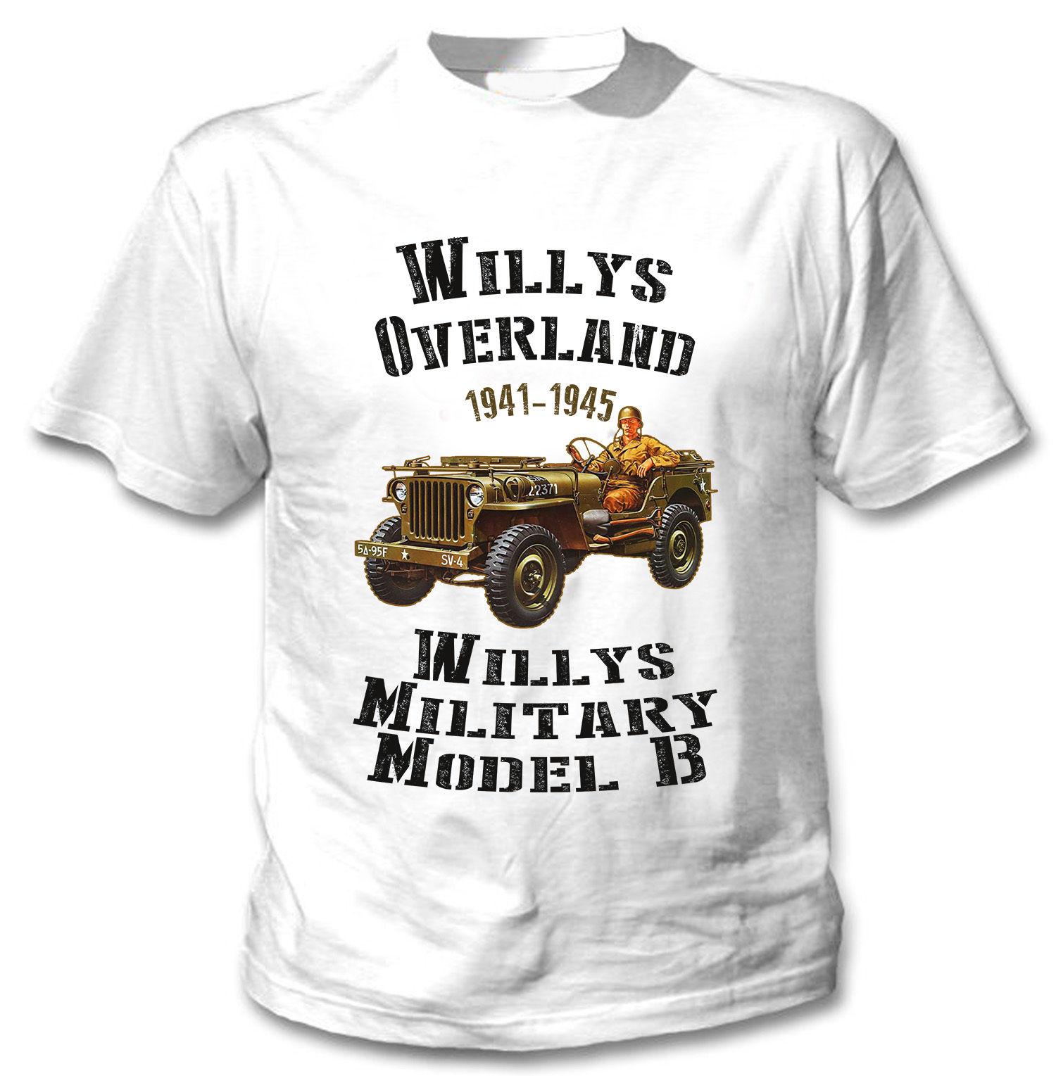 ¡Nueva moda camiseta Willy EE! UU De la segunda guerra mundial T...