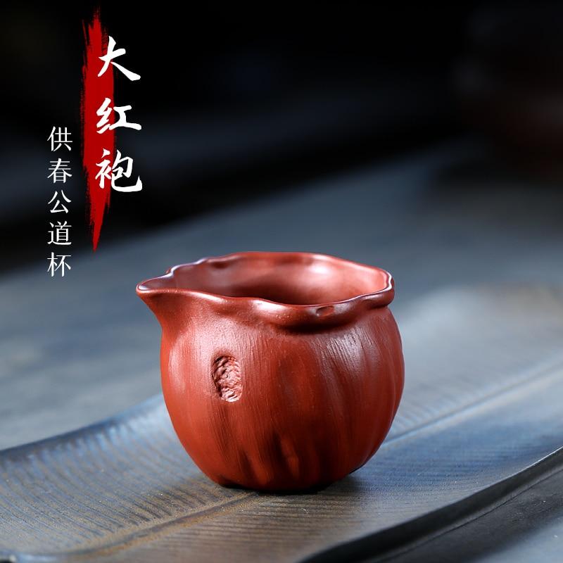 TaoYuan 】 yixing كوب شاي رملي أرجواني خام ، إكسسوارات الشاي ، dahongpao ، for spring fair master cup ، 180 cc