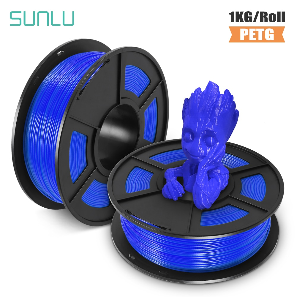 SUNLU PETG filament 1.75mm 3d printer 1kg new HOT SALE sublimation with 0.02 tolerance for teenages explore imagination филомент