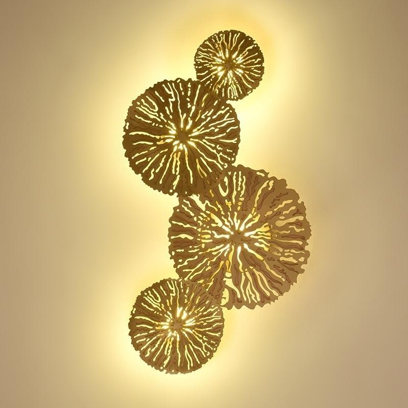 Lámpara de cristal moderna para pasillo, sala de estar, dormitorio, luminaria de...