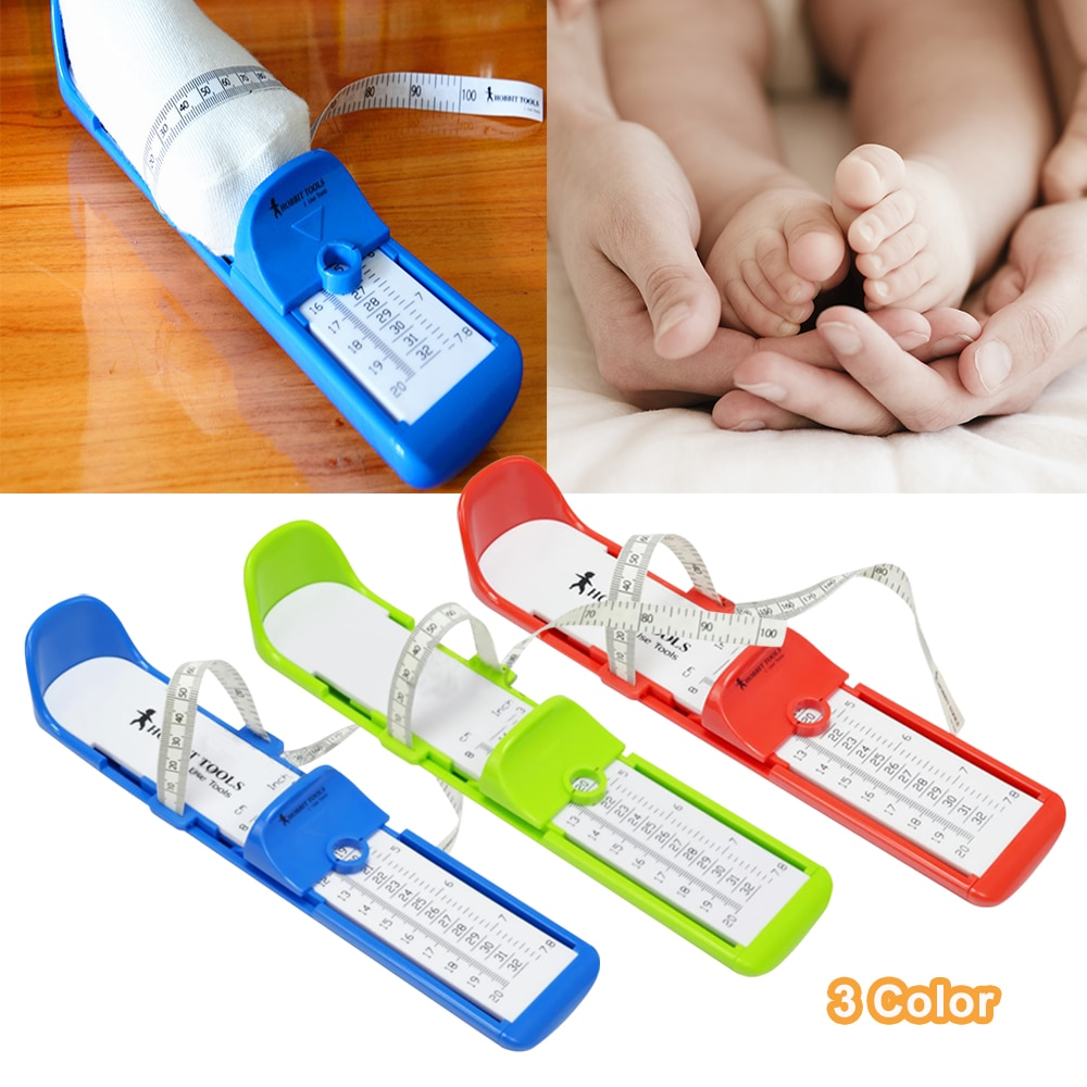 Toddler Baby Child Kids Foot Measuring Gauge Child Shoe Measure Tool Size Hot