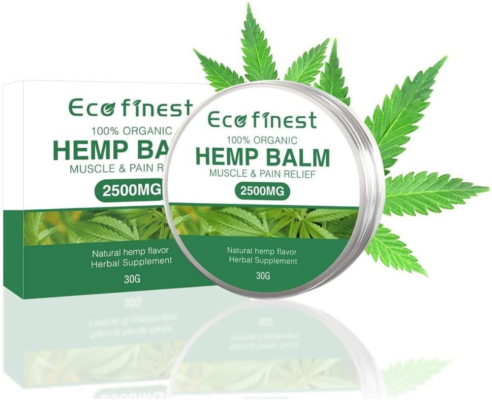 Hemp Cream 2500MG Natural Extract Aloe Vera, for Pain Relief Muscle, Joint, Sciatica & Back Pain -Anti-Inflammatory 30g(1.06 oz) недорого