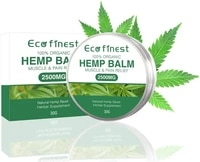 hemp cream 2500mg natural extract aloe vera for pain relief muscle joint sciatica back pain anti inflammatory 30g1 06 oz