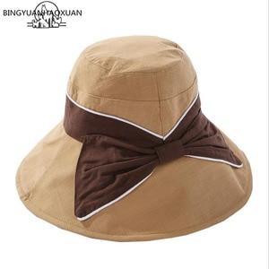 Woman Bucket Hat Summer Hats For Women Sunscreen Panama Hat Sunhat Travel Style Beach Fishing Hat Cap 2019 New