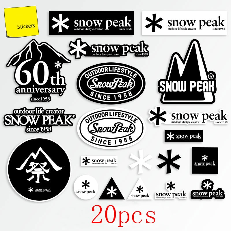 20pcs Office Stationery Cute Notebook Kawaii Label Mobile Phone Camping Outdoor Sticker Beautiful Sc