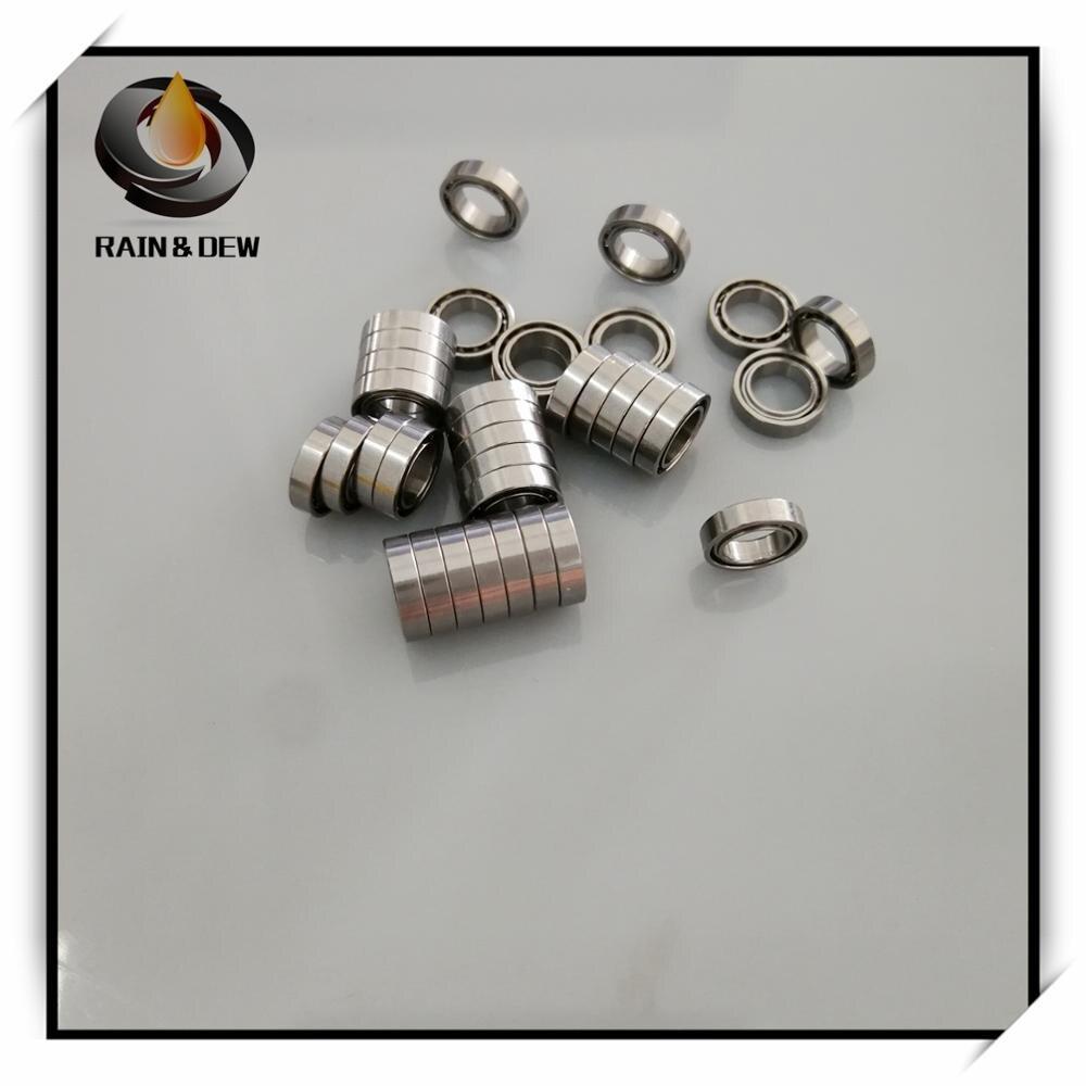 10pcs-smr85-open-bearing-5x8x2-stainless-steel-ball-bearing-mr85