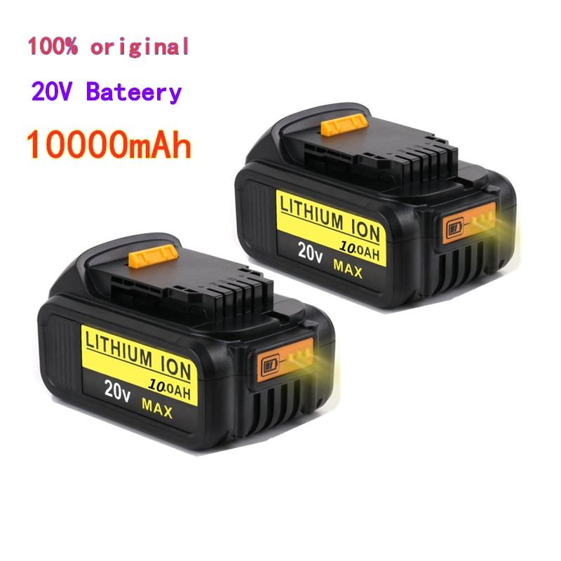 Dewalt Werkzeuge 20 V 10,0 Ah MAX XR Batterie Power Tool Ersatz für DeWalt DCB184 DCB181 DCB182 DCB200 20 V 5A 18Volt 20 V Batterie