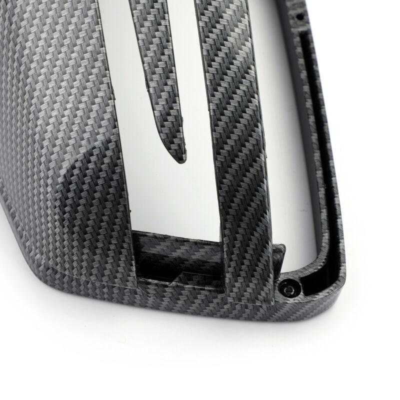 Cubierta de espejo retrovisor de fibra de carbono para Mercedes Benz CLA GLA W212 W212 W221 W204 izquierda, derecha, delantera