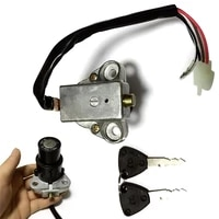 1set motorcycle ignition switch lock assembly 3pin 2 keys fit for for dt125 rtzr250xt350xt600