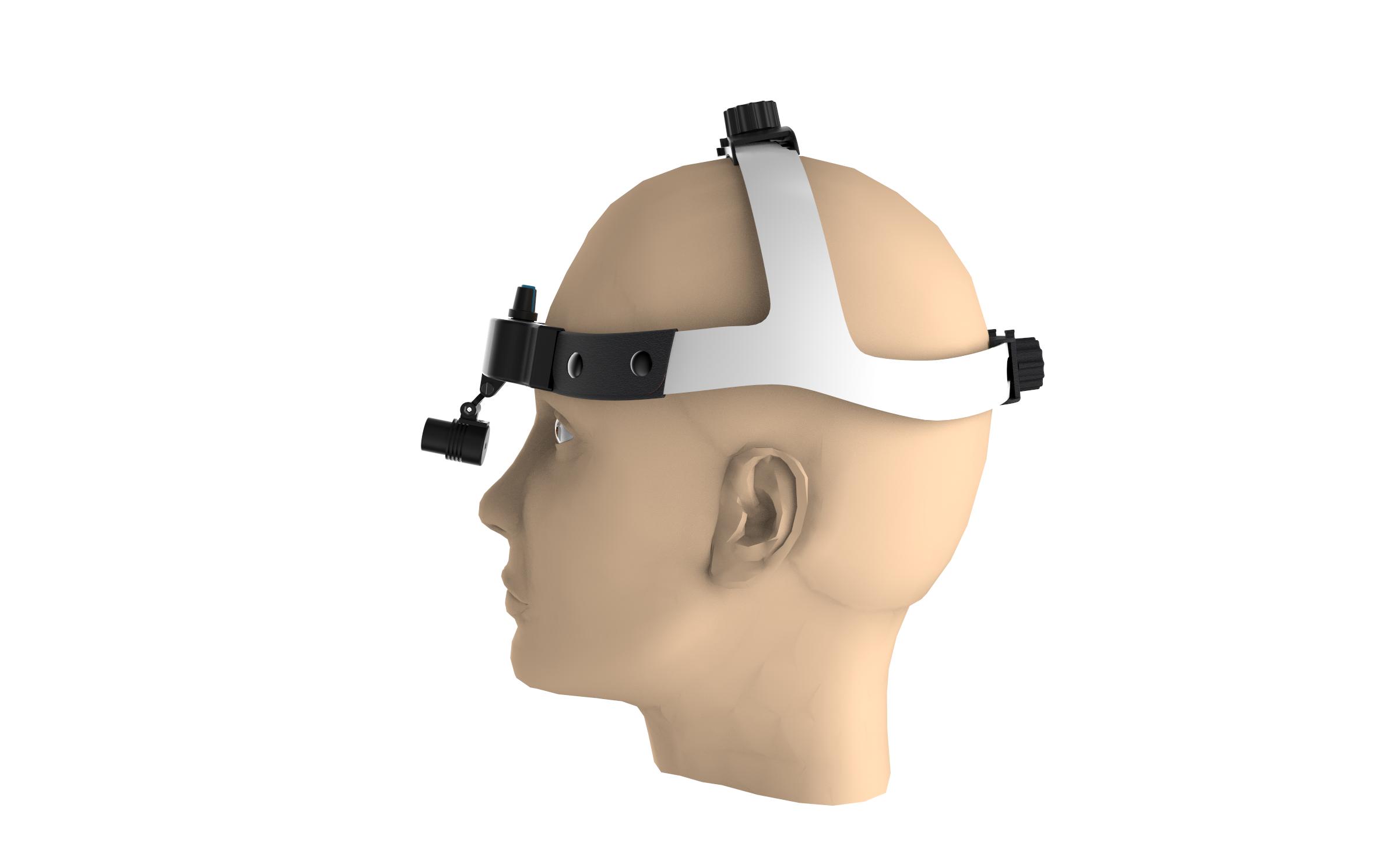 3W Rechargeable High Intensity Headlamp Dental Operation Helmet Lamp LED Wireless Headlight(TD-M06B-F) enlarge