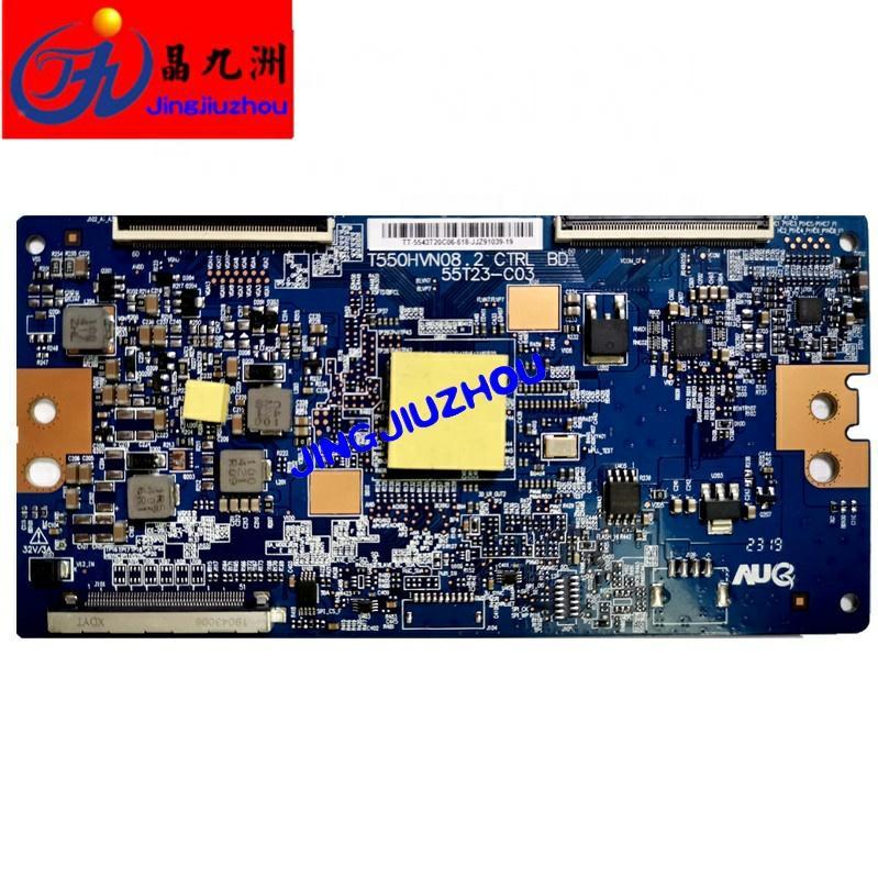 LED T550HVN08.2 TV barra de luz electrónica CTRL BD 55T23-C03 T550HVN08.2 placa de circuito de TV con t