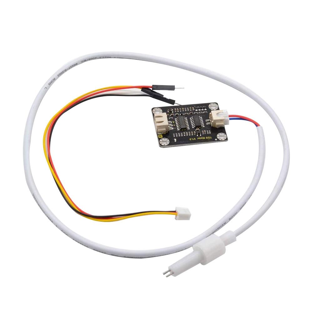 Waterproof Probe Easy Use Quality Monitoring Analog TDS Sensor Module DIY Home Metal Online Meter Water Conductivity For Arduino